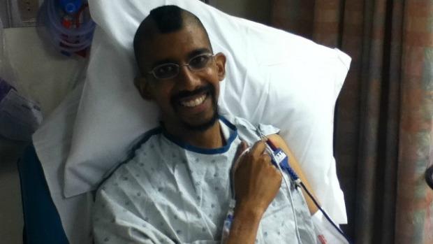 Paciente com câncer foi ajudado graças à Internet (Foto: Reprodução) (Foto: Paciente com câncer foi ajudado graças à Internet (Foto: Reprodução))