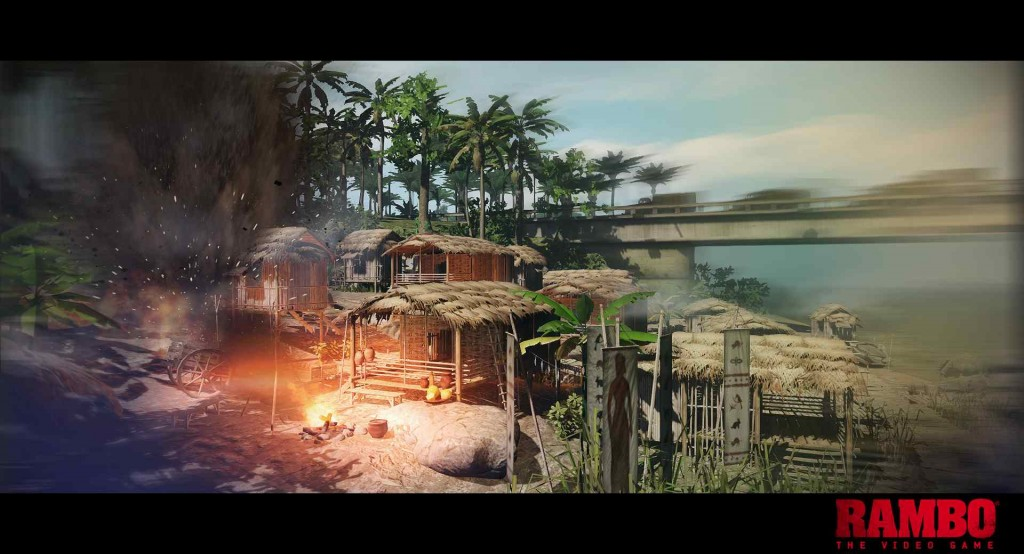 Rambo: The Video Game (Foto: Divulgação)