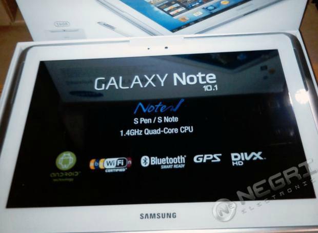 Site de vendas divulgou imagens do novo tablet da Samsung (Foto: Reprodução) (Foto: Site de vendas divulgou imagens do novo tablet da Samsung (Foto: Reprodução))