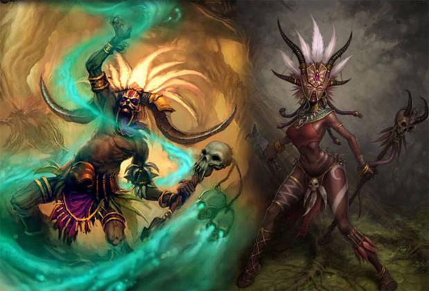 Feiticeiros de Diablo 3 (Foto: Divulgação)