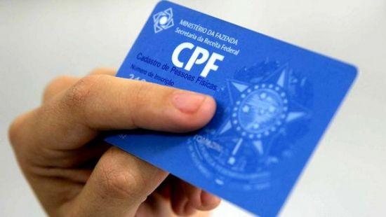 Cadastro de CPF pela Internet (Foto: Reprodução)