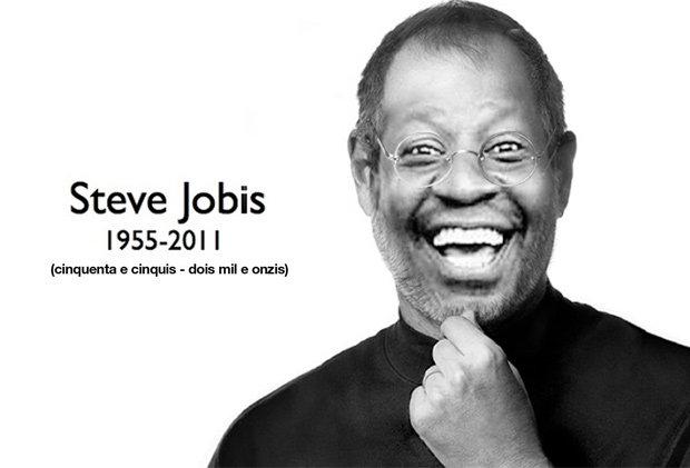 Steve Jobis é uma das montagens mais compartilhadas na Internet (Foto: Reprodução)