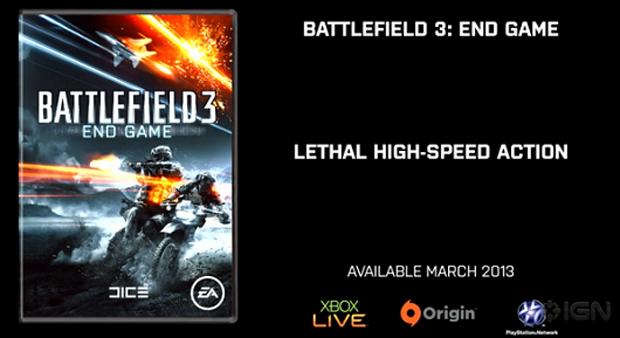 End Game vai ser a última expansão de Battlefield 3 (Foto: Reprodução/IGN)