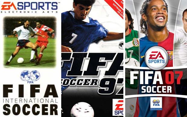 Evolução da franquia FIFA Soccer (Foto: Reprodução)