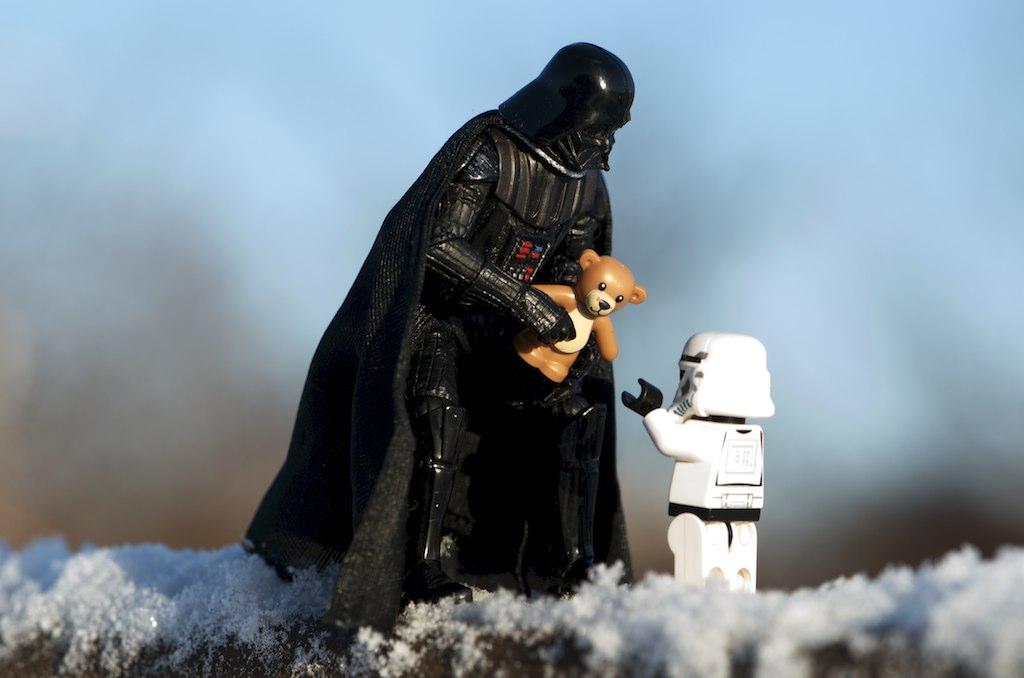 Darth Vader tambm ama (Foto: Kristina Alexanderson)