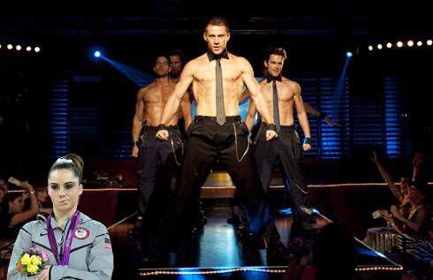 Meme com o rosto da ginasta ironiza a dança de modelos (Foto: Reprodução)