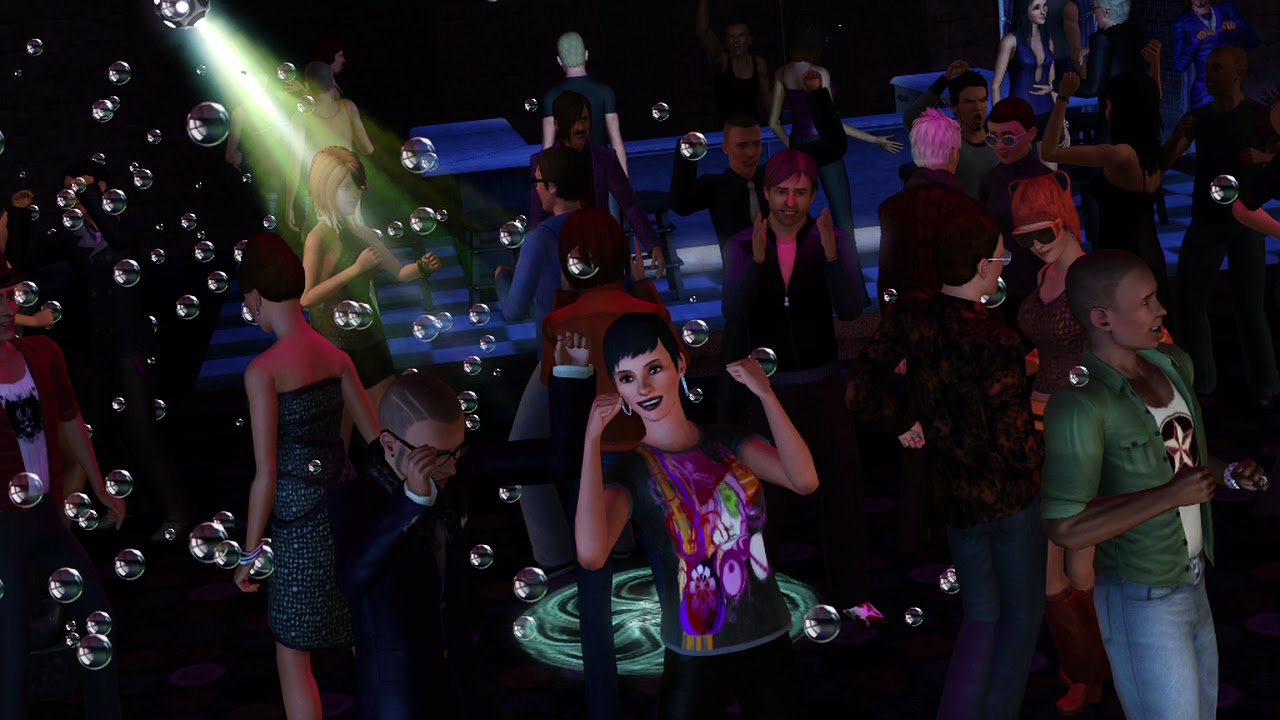 The Sims 3: Caindo na Noite (Foto: Divulgação)