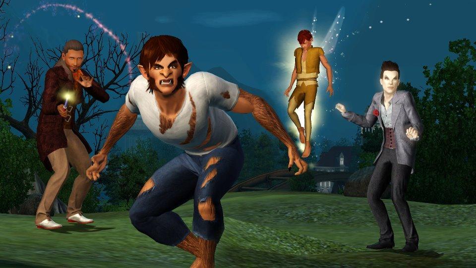 The Sims 3: Sobrenatural (Foto: Divulgação)