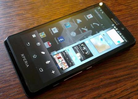 O novo smartphone da Sony, Xperia T (Foto: Reprodução) (Foto: O novo smartphone da Sony, Xperia T (Foto: Reprodução))
