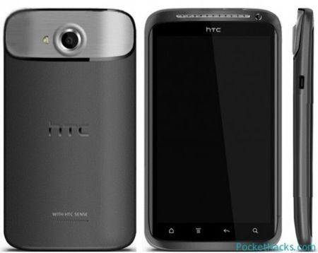 O HTC Endeavor quad-core, o substituto do One X (Foto: Reprodução)