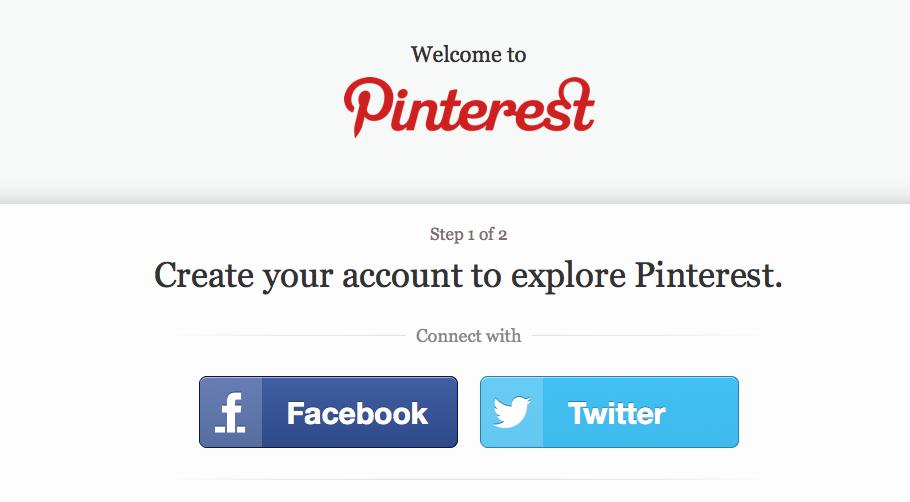 Pinterest é aberto para todos os usuários (Foto: Reprodução/Pinterest)