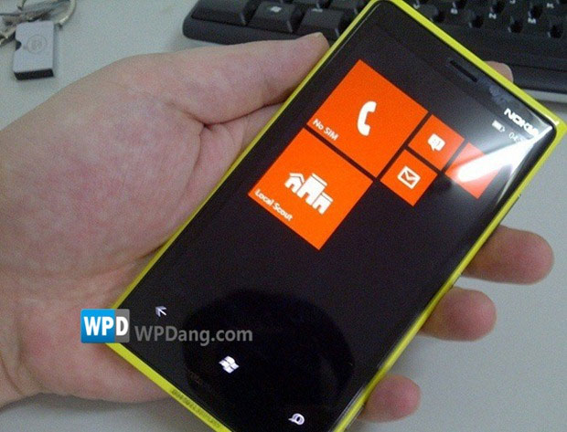 Segundo o Nokia Inovations, imagem que surgiu há alguns dias na Internet é do protótipo do Nokia Phi (Foto: Reprodução)