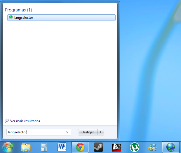Buscando no menu do Windows 7 (Foto: Reprodução/Helito Bijora)