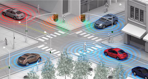 """Sistema baseado em Wi-Fi """"enxerga"""" pedestres e avisa o motorista a tempo de impedir atropelamentos (Foto: Reprodução)"""