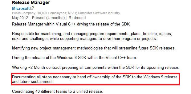 Perfis revelam que Windows 9 já está sendo desenvolvido pela Microsoft (Foto: Reprodução) (Foto: Perfis revelam que Windows 9 já está sendo desenvolvido pela Microsoft (Foto: Reprodução))