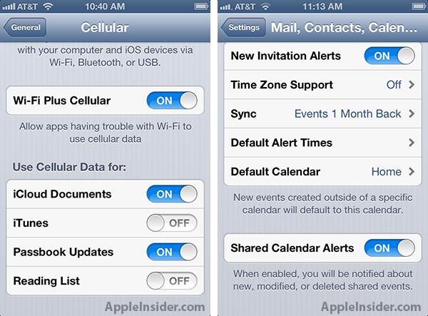 Wi-Fi+ Cellular pode é adicionado a versão beta do iOS 6 (Foto: Reprodução/ AppleInsider)