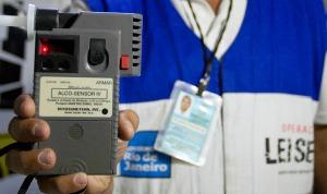 Bafômetro usado na Operação Lei Seca no Rio de Janeiro (Foto: Reprodução)