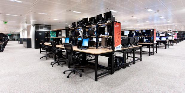 Centro de Computação da Acer em Londres (Foto: Divulgação)