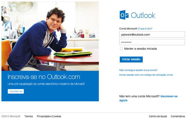Segundo a Microsoft, Outlook.com será mais seguro que o Gmail (Foto: Reprodução)