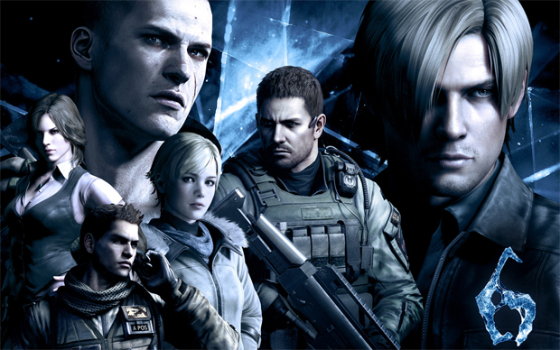 Os heróis de Resident Evil 6 (Foto: Divulgação)