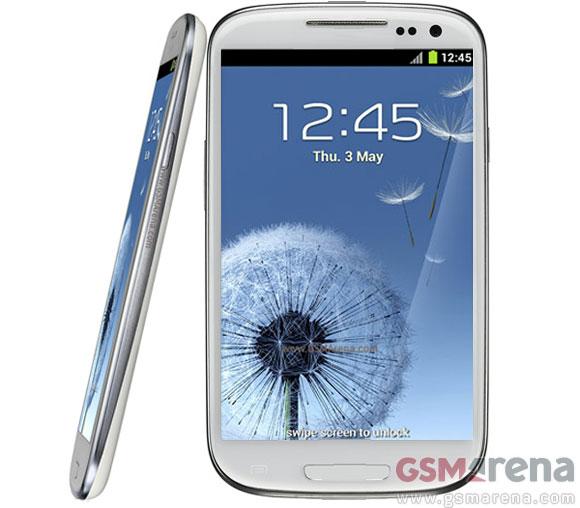 Suposta imagem oficial do Samsung Galaxy Note 2 (Foto: Reprodução)