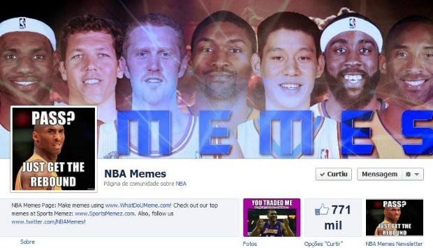 Página no Facebook tem mais de 770 mil curtidas (Foto: Reprodução)