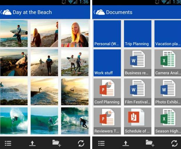 Android vai ganhar SkyDrive nas próximas semanas (Foto: Reprodução)