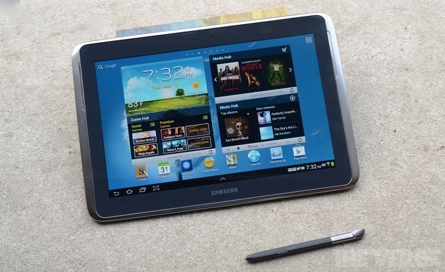 Samsung Galaxy Note 10.1 (Foto: Reprodução/TheVerge)