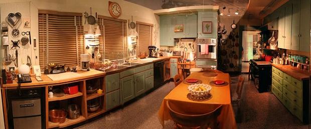 Cozinha de Julia Child exposta no Museu Nacional de História americano (Foto: Reprodução/Wikipédia)