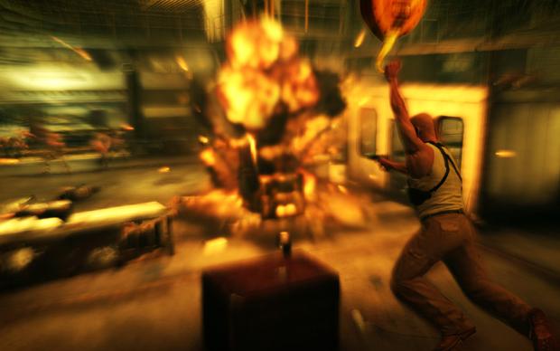 Mire e acerte em explosivos espalhados no cenário para aniquilar seus inimigos (Foto: Divulgação)