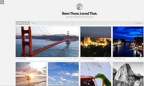No Medium, o usuário pode postar imagens de um certo tema e ganhar visibilidade com indicações (Foto: Reprodução)