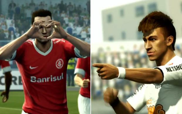 PES 2013 terá clubes do Campeonato Brasileiro (Foto: Reprodução)