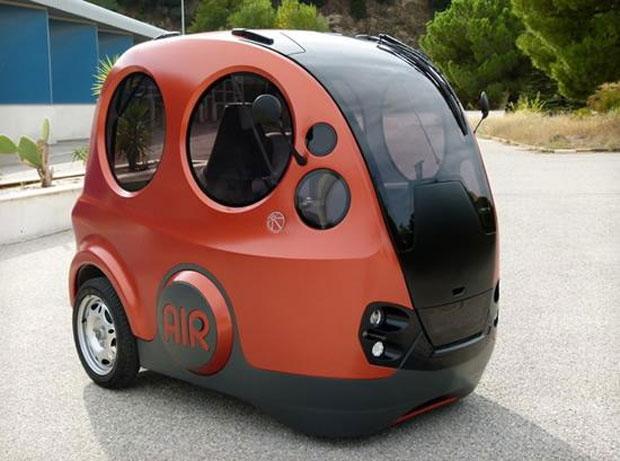 Airpod usa ar pressurizado para se mover (Foto: Divulgação)
