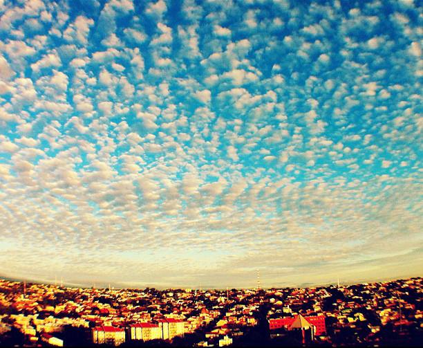 Céu. Feita com iPhone 4 (Foto: Geraldo Trindade)