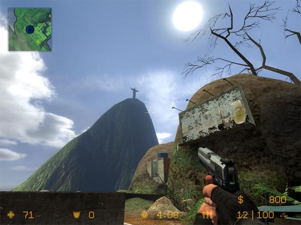 Mapa do Rio de Janeiro sempre foi popular no jogo (Foto: Reprodução)