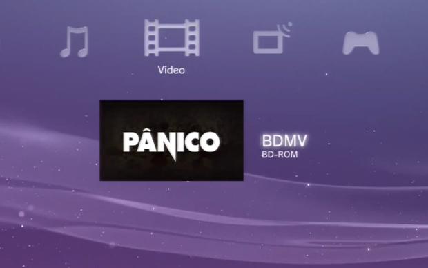 No menu principal, acesse a aba Vídeos (Foto: Reprodução)