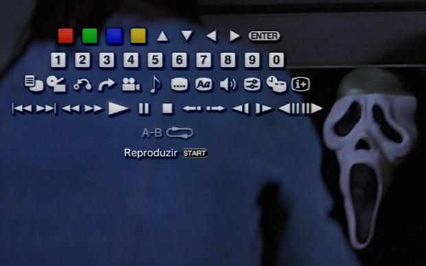 """Aperte o botão """"triângulo"""" a qualquer momento para acessar o menu de opções  (Foto: Reprodução)"""