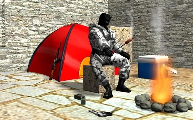 Ilustração divertida para a definição de Camper (Foto: Apir.org)
