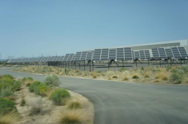Chegada ao local mostra a preocupação do Facebook com uso da energia (Foto: GigaOM)