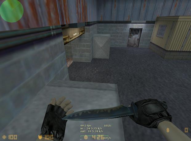 Faca utilizada em Counter-Strike (Foto: Reprodução)