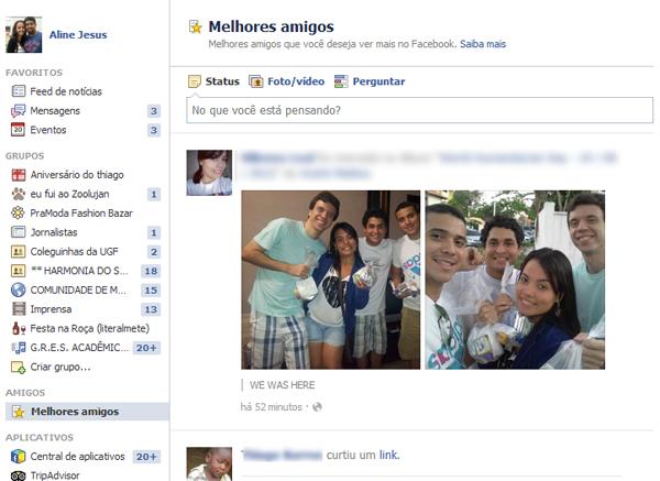 Facebook Fotos de Amigos Amigos no Facebook Foto