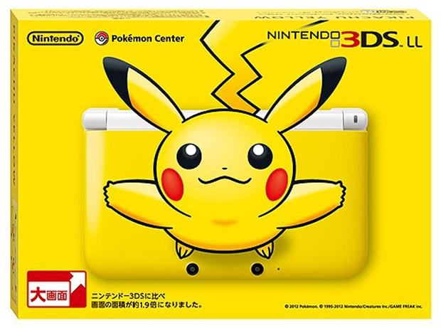Pikachu é a estrela do novo 3DS XL (Foto: Divulgação)