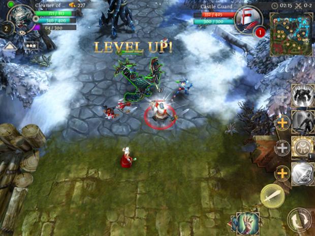 Heroes of Order & Chaos, clone de League of Legends, chegará para