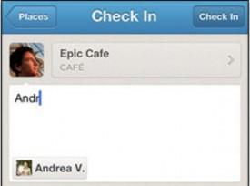 """Facebook permite """"taggear"""" amigos por meio de outros apps (Foto: Reprodução)"""
