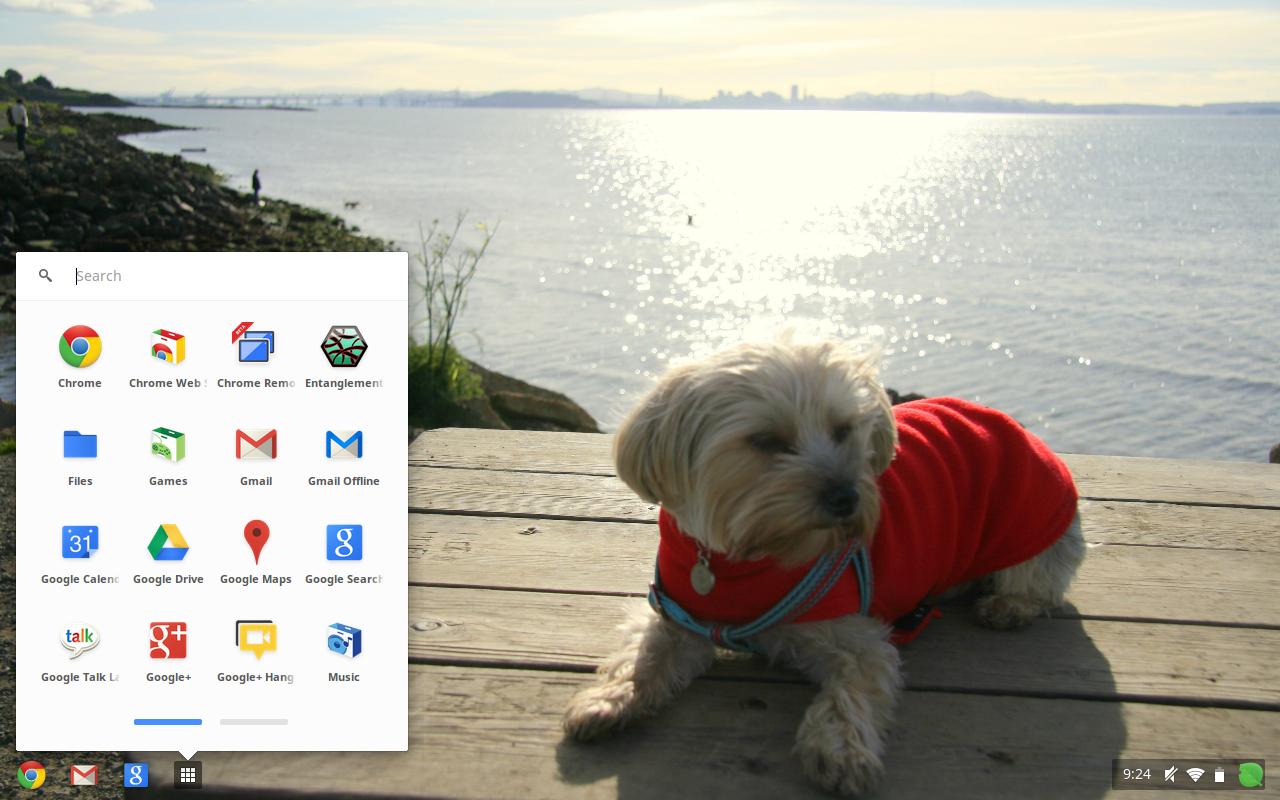 Nova barra de ferramentas do Chrome é mais simples (Foto: Divulgação)