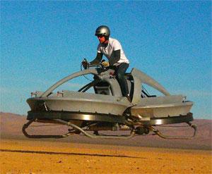 Hover da Aerofex pode chegar a 48 km/h (Foto: Reprodução)