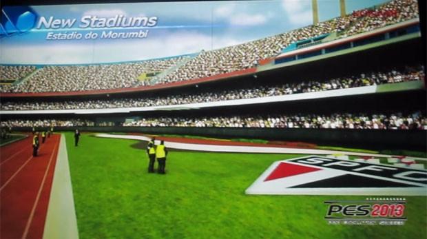 Morumbi será um dos estádios de PES 2013 (Foto: Gustavo Petró/G1)