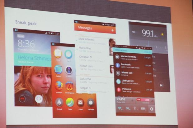 Novo visual do Firefox OS, o sistema operacional da Mozilla para celulares (Foto: Allan Melo/TechTudo)