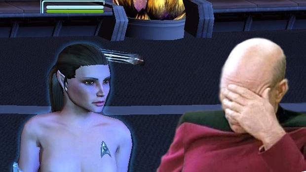 Jogador é pego vendendo modificação de nudez para Star Trek Online (Foto: Reprodução: Rafael Monteiro)