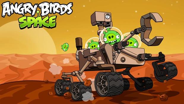 Angry Bird Space: Red Planet (Foto: Divulgação)